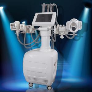 China Lipo 40Kpa Cryolipolysis Machine , Vacuum Roller Sixpolar RF Body Slimming Machine wholesale