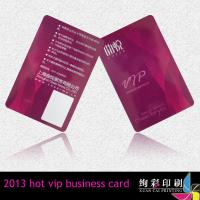 China Glossy UHF Dual Interface Contactless Smart Card Pantone Colors wholesale