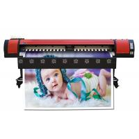 China Roll Graphic Paper Eco Solvent Printing Machine , Digital Inkjet Flex Printer Outdoor on sale
