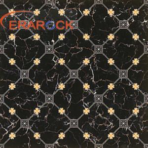 China 600X600 Ceramic Tile Design Black Sparkle Floor Tiles wholesale