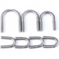 Buy cheap Threaded U Bolt Customized Standard For Pipework / Trucks zinc plated Size M6-30 from wholesalers