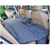 China Good quality thick car Back seat cover inflatable mattress cushion car travel bed with inflator pump multi-function wholesale