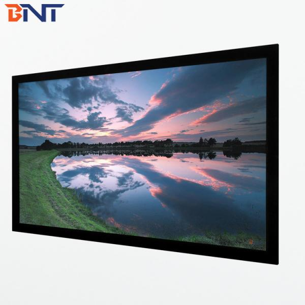 Quality 150 inch projection furniture screen 16:10 format used in profession cinema BETFS10-150 for sale