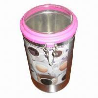 China Candle gift box with plastic lid, recyclable wholesale