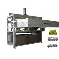 China Fully Auto Paper Molded Egg Carton Making Machine Vacuum Suction Forming Type wholesale