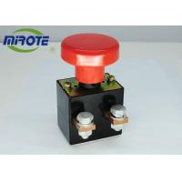 China Custom Micro Latching Push Button Switch  , Mushroom Emergency Stop Button 125A wholesale