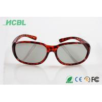 Buy cheap Clip on Virtual reality Readl 3d glasses Linear polarization 3d Glasses for cinema use from wholesalers