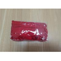 China Customized Size PVC Clear Packaging Bags With Adhesive Tape OEM / ODM wholesale