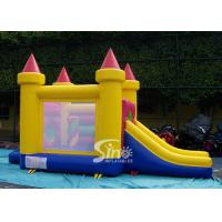 China 4in1 indoor kids party small bouncy castle made of lead free material from Sino Inflatables wholesale