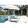 China Rattan Garden Outdoor Furniture, Rattan Sun Lounger (M1B605) wholesale