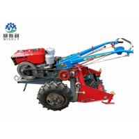 China Walking Tractor Potato Harvester / Latest Agricultural Machinery 60-80cm Harvest Width wholesale