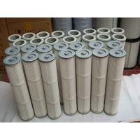 China Pleated air inlet filter cartridge for cement silo bin roof dust collector wholesale