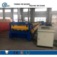 China 0.8-1.2mm Concrete Use Galvanized Steel Floor Deck Roll Formig Machine With Embossing wholesale