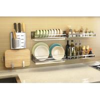 China Rust - Resistant Steel Rack For Kitchen , Stable Metal Kitchen Rack Shelves wholesale