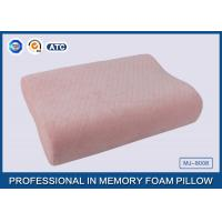Baby Pillow Filling Anti bacterial Soft Memory Foam Toddler Pillow wtih Pink Cotton Pillow Cover