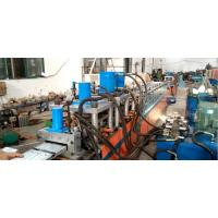China Hydraulic Three Punching Door Frame Roll Forming Machine Size Adjustable wholesale