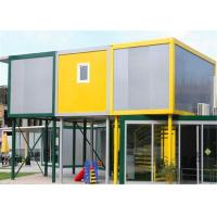 China Vinyl Sheet  Steel Structure Building 6055mm x 2435mm x 2790mm for Classroom wholesale