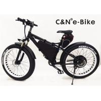 China Brushless Hub Motor Electric Fat Tire Sand Bike With Self Charging Lithium Ion Battery wholesale