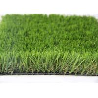 China 35MM Natural Looking Outdoor Artificial Grass For Gardens , Outdoor Synthetic Turf wholesale