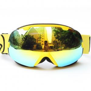 China Detachable Anti Fog Mirrored Ski Goggles REVO Lenses For Snow Boarding wholesale