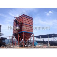 Long Bag Filter Dust Collector Low Pressure High Efficient Low Gas Consumption