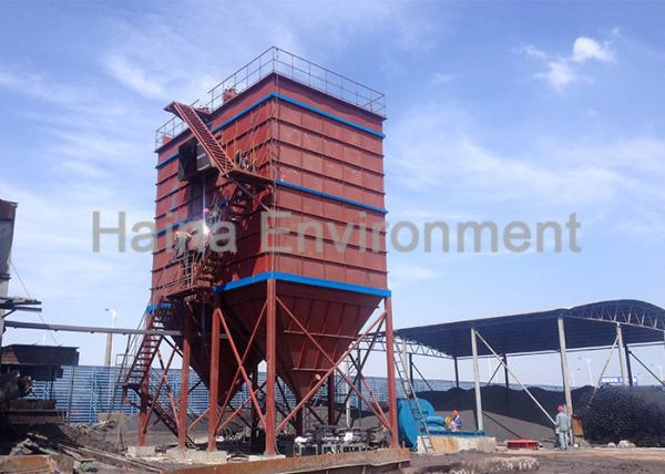 Quality Long Bag Filter Dust Collector Low Pressure High Efficient Low Gas Consumption for sale