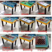 China New Style Multi Game Table Soft Handle Football Game Table With Colorful Player wholesale