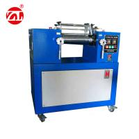 China Rubber Test Machine Plastic Rubber Lab Two Roll Mill Equipment , 2 Roll Mill Mixer wholesale