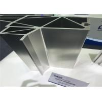 China Extruded 6063 T5 Standard Aluminum Extrusions For Rail Transport Vehicles Body Profile on sale