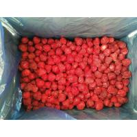China No Artificial Colors Bulk Frozen Strawberries With Whole/ Dice / Slice Shape wholesale
