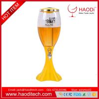 Buy cheap 1.5L,2L,3L Tabletop Wine Beer Tower Dispenser with LED Colorful Shinning Lights from wholesalers