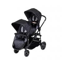 China double twin baby stroller 3 in 1 with car seats pushchair pram on sale