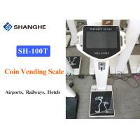 China Intelligent Airport Luggage Scale With Voice Broadcasting System 200KG Weight wholesale