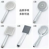 China Chrome ABS Rain Bath Shower Accessories Bath Handheld Shower Head 1.5m Soft Tube wholesale