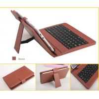 "Tablet Keyboard Leather Case for 7"" 8"" 9'' 9.7'' 10'' colorful Android Tablet PC"