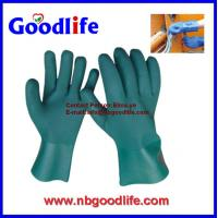 China Chemical Resistant Gloves, PVC Gloves, Fully Coated Gloves on sale