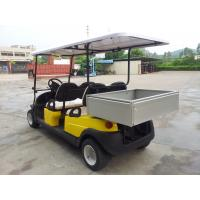 China Avant - Garde Practical 4 Seater Golf Cart , 4 Wheel Drive Golf Cart With The Rear Packing on sale