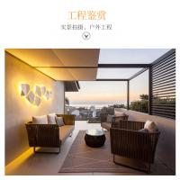 China Comfortable Rattan Outdoor Sofa Set Seating With Cushion All Weather Use wholesale