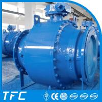 China API 6D double block and bleed flanged type ball valve wholesale