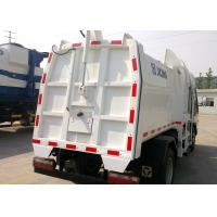 Hydraulic Side Loader Garbage Truck 5000L Special Purpose Vehicles For Collecting Refuse