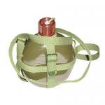 China 1L Green Military Aluminium Water Bottle wholesale