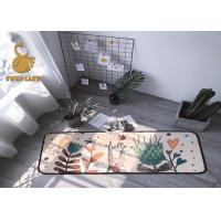 China Absorb Water Feature Washable Kitchen Rugs Corrosion Resistant For Decoration wholesale