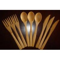 China bamboo spoon, fork&knife wholesale