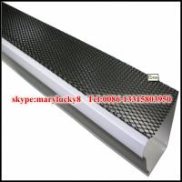 China Expanded Metal gutter guard mesh/aluminum mesh gutter guards wholesale