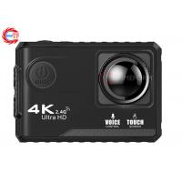China Voice Control EF100P Wifi 4K Action Camera 2.0 Touch Screen with Gyro and Remote, GPS Extension as option wholesale