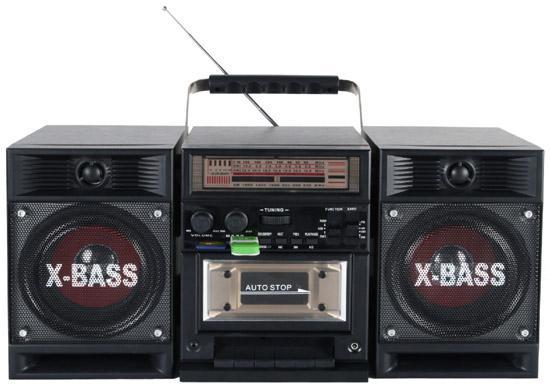 Radio cassette recorder radio cassette player cassette player car