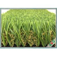 China W Shape Outdoor Synthetic Grass / Artificial Grass Waving Surface 12800 Dtex wholesale