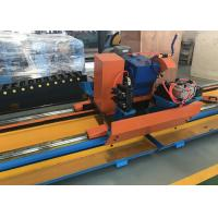 China Semi-Automatic Manual Type Metal Circular Cold Cut Pipe Saw / Pipe Cutting Beveling Machine wholesale