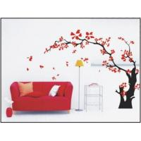 China Maple Tree Modern Nature Wall Decals With Multi Color , Scrape Resistance wholesale
