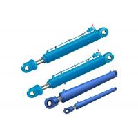 China durable chrome plated two way mini hydraulic cylinder for trash truck wholesale
